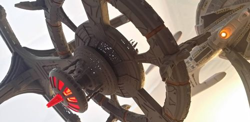 LED Beleuchtungsset - DS9 Deep Space Nine 1/3500